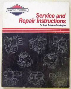 Briggs Stratton Engine Repair Manual
