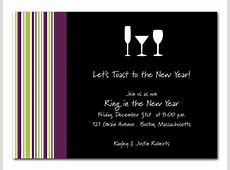 New Year's Toast Party Invitations by Invitation