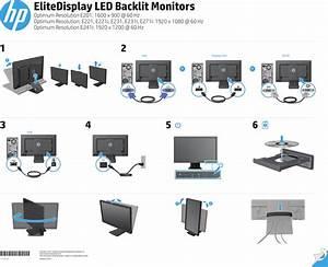 Hp Elitedisplay E231 23 Inch Led Backlit Monitor Head Only