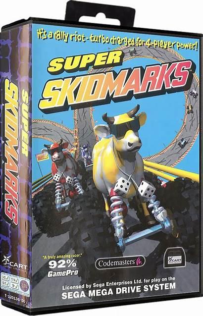 Skidmarks Super Games Launchbox Box 3d