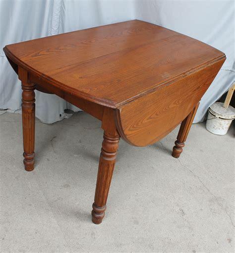 bargain johns antiques antique drop leaf kitchen table