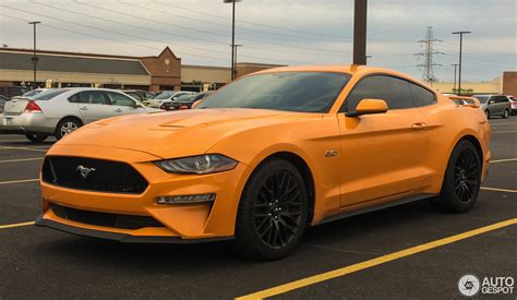 2018 Mustang Gt by Ford Mustang Gt 2018 5 March 2018 Autogespot