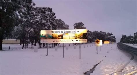 australia is having a white christmas in july business