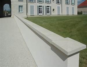 Cloture Béton Préfabriqué Tarif : couvre mur optipose by weser ~ Edinachiropracticcenter.com Idées de Décoration