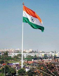 Tallest Tricolor Indian Flag is on 293 foot high pole ...