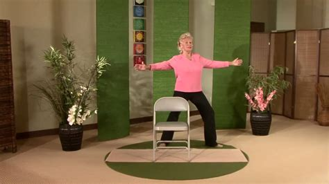 gentle chair yoga for seniors and midlifers look no