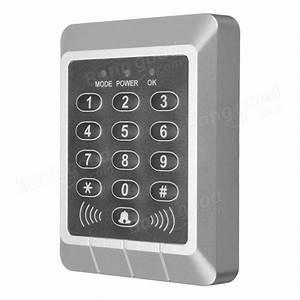 Rfid Security Reader Entry Door Lock Keypad Access Control