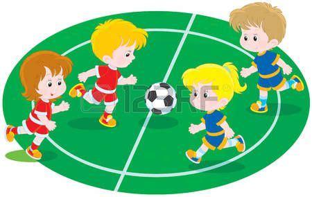 resultado de imagen para ni 241 os jugando futbol en caricatura nu 241 os futbolistas ni 241 o jugando