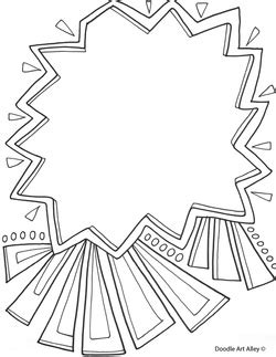 templates coloring pages classroom doodles
