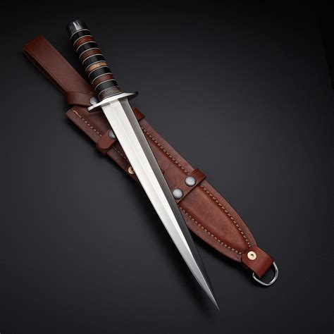 forged kitchen knives d2 arkansas toothpick dagger recon tactical