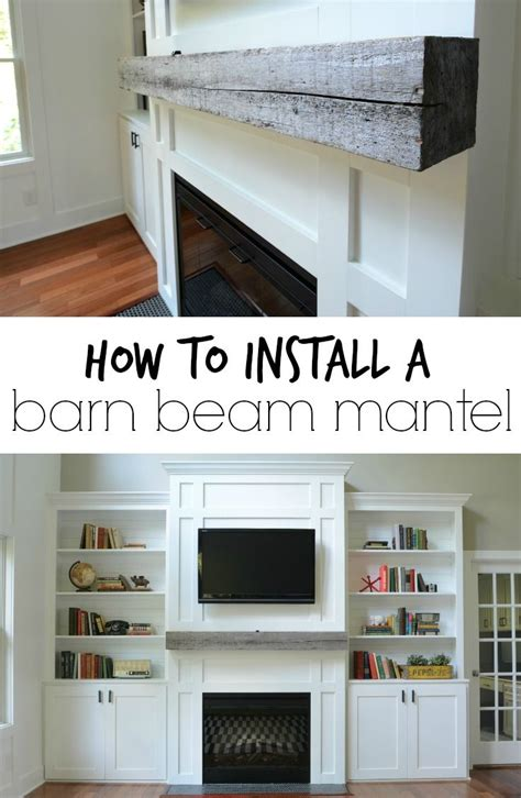 Installing A Fireplace Mantel  Woodworking Projects & Plans