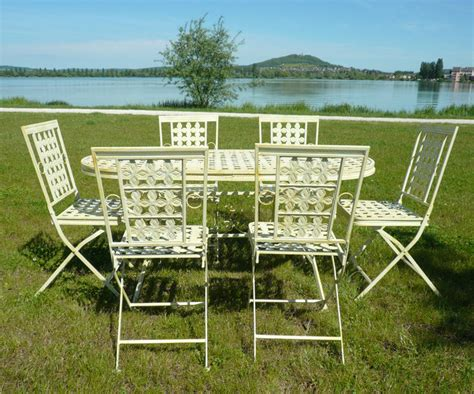 salon de jardin en fer forg 233 tables chaises bancs