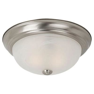 sea gull lighting windgate 3 light brushed nickel