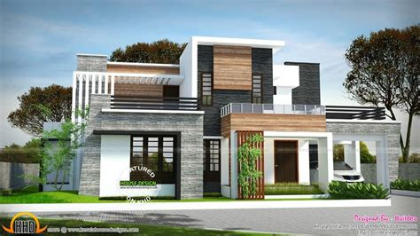 sq ft bedroom flat roof modern house kerala house design rooftop design house roof