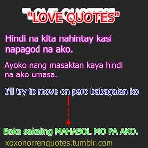 Sampoerna Poetra: Tagalog love quotes tumblr
