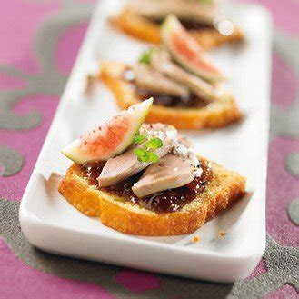 canapés de foie gras au quatre quarts magazine avantages