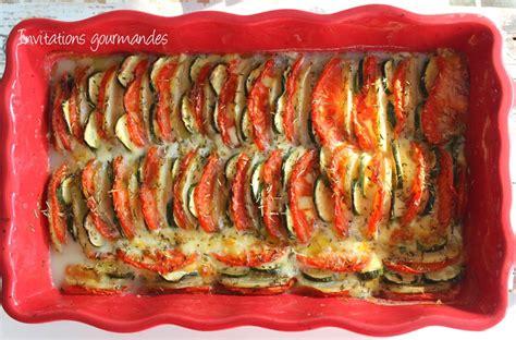 tian de pommes de terre tomates courgettes et mozzarella