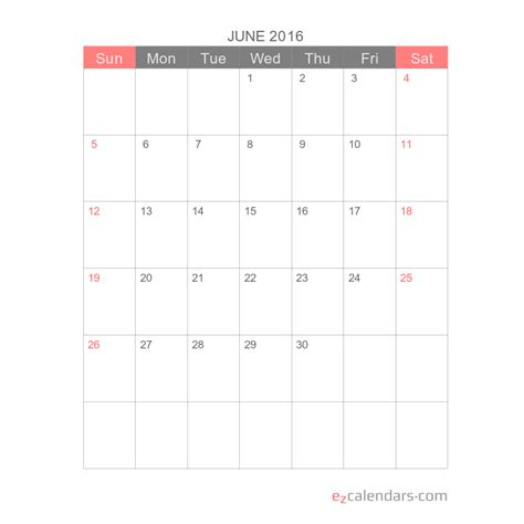 simple printable month calendar template ezcalendars