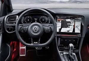 Golf 8 Interieur : volkswagen golf 8 with the interior of r touch concept main info ~ Medecine-chirurgie-esthetiques.com Avis de Voitures