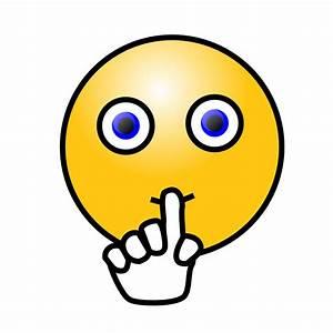 clipartist.net » Clip Art » emoticons silence face SVG  Quiet