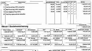Abrechnung Brutto Netto Bezüge : forum deutsches recht foren ~ Themetempest.com Abrechnung