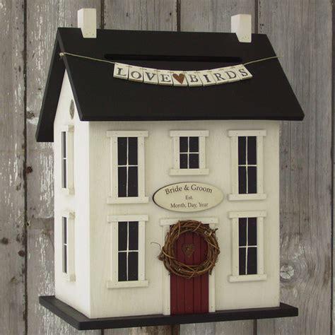 pretty card house   box