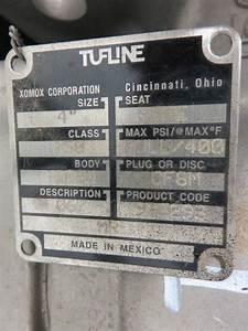 Tufline Xomox 4 U0026quot -150 Diaphragm Plug Valve - Pt9563