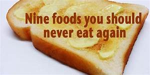 5 food you should never eat / Men day program