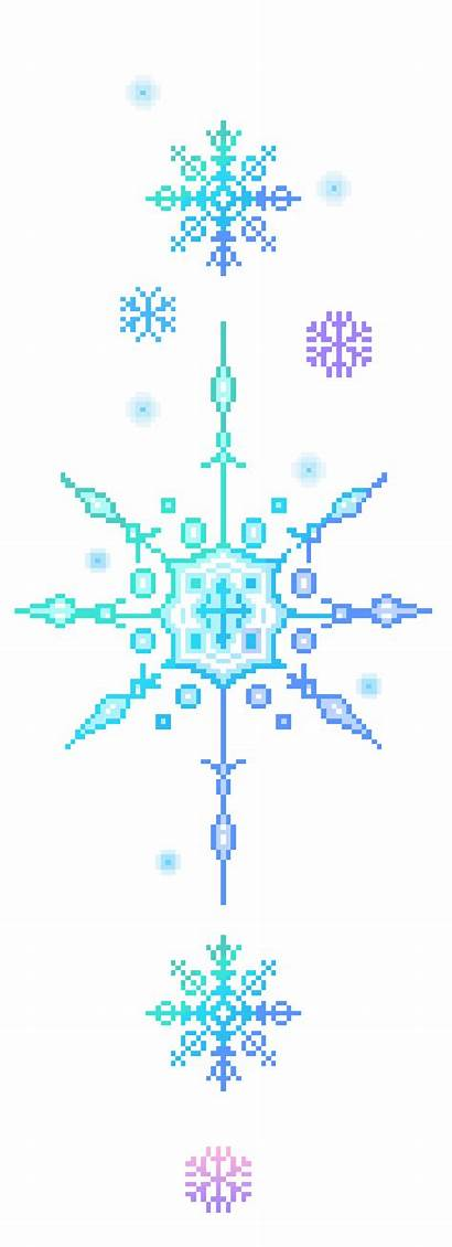 Snowflake Transparent Snow Snowflakes Clipart Divider Animated