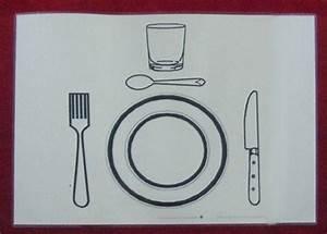 Set De Couvert : set de table mettre le couvert 226110 autisme et apprentissages ~ Teatrodelosmanantiales.com Idées de Décoration