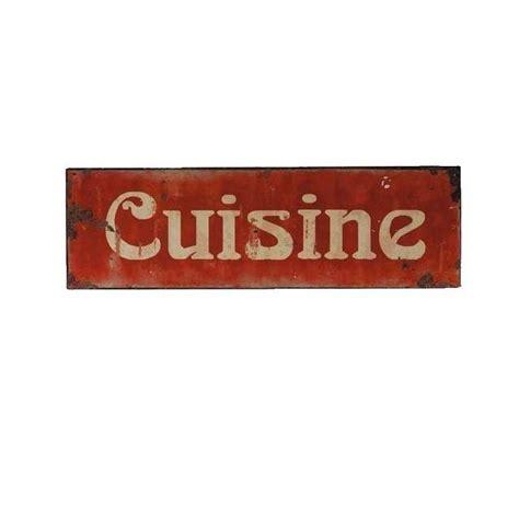 plaque de cuisine plaque décoration cuisine rétro esprit vintage