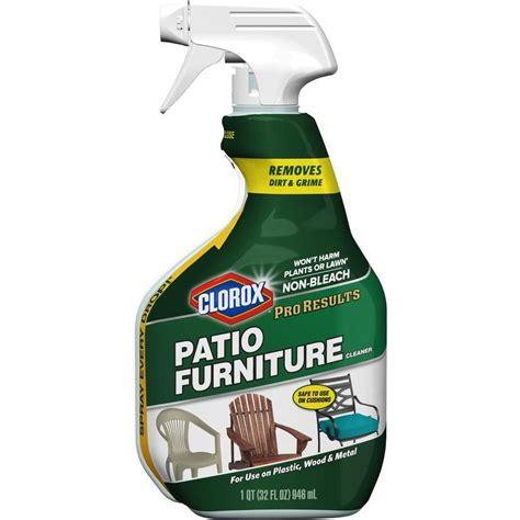 patio furniture cleaner shop clorox patio furniture 32 fl oz all purpose cleaner