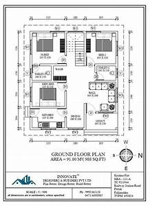 Pin, On, 3, Bedroom, Low, Cost, Home, Design, In, 1073, Square, Feet