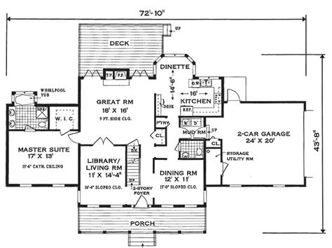 colonial home floor plans southern colonial 6990 3 bedrooms and 2 baths the house designers