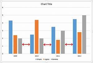 Adjust Chart Gap Width In Powerpoint 2013 For Windows