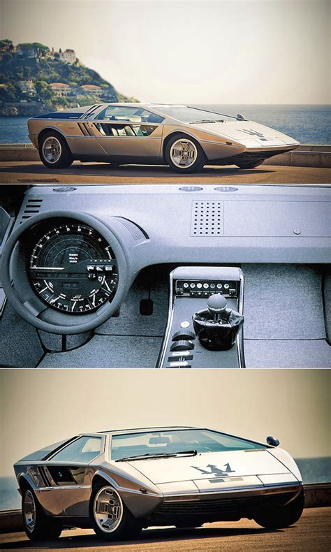 maserati boomerang this is not a back to the future delorean prototype just