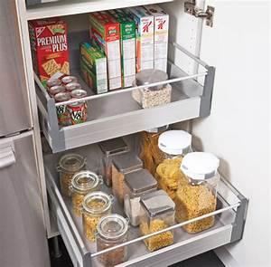 Tiroir Coulissant Cuisine : tiroir coulissant pour cuisine maison design ~ Premium-room.com Idées de Décoration