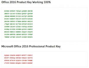 microsoft office 2016 product key generator 100 working activation free download