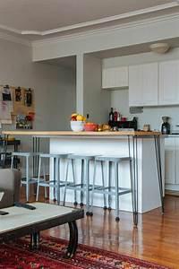 Chaise Cuisine Haute : la table haute de cuisine est ce qu elle est confortable ~ Teatrodelosmanantiales.com Idées de Décoration