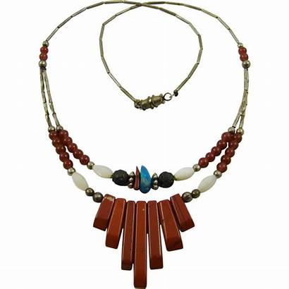 Native American Necklace Rubylane