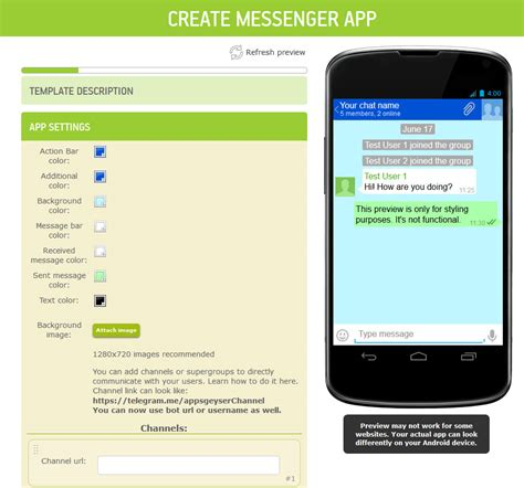 app creator create apps  android  coding required