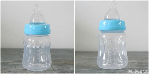 Review Minbie Baby Teats Bottles Make Do Push
