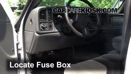 interior fuse box location   chevrolet colorado