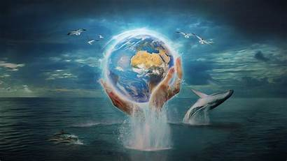 Earth Save Wallpapers Heal Fantasy Environment Background