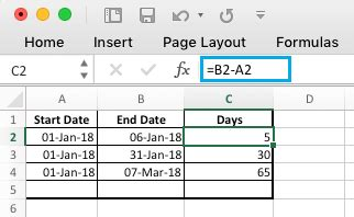 add subtract microsoft excel