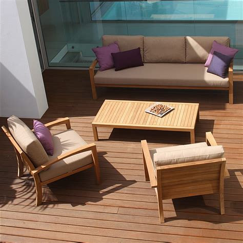 ixit teak garden sofa royal botania luxury quality teak