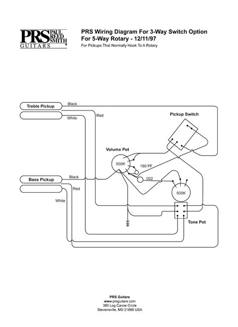 prs wiring diagram wiring diagram