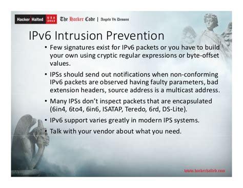 Ipv6 Security Hacker Halted 2013
