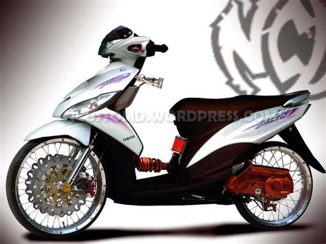Modifikasi Motor Yamaha Mio J by Gambar Modifikasi Motor Mio J Foto Modifikasi Motor Mio