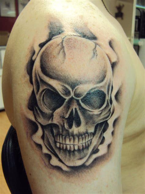 skull tattoos  men designs ideas  meaning tattoos